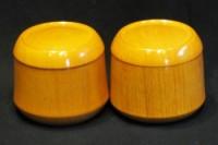 碁笥 欅(けやき)材 本因坊型