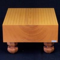 本榧(日本産)碁盤 木裏 5寸(使用盤)