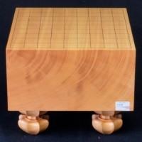 本榧将棋盤柾目 6寸 極上