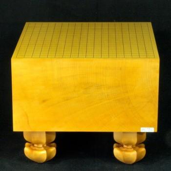 本榧碁盤天地柾 7.3寸