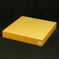 本榧碁盤卓上盤柾目 一枚板 2寸