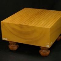 本榧碁盤板目 木裏 5.3寸
