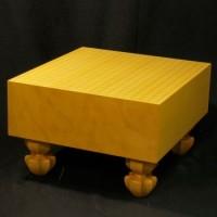 本榧(日本産)碁盤天地柾 5寸