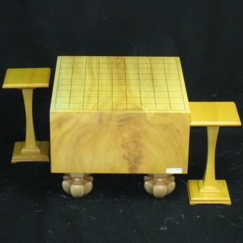 本榧(日本産)将棋盤 5.5寸木表