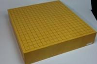 本榧碁盤卓上天地柾目 3寸