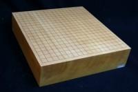 本榧碁盤卓上柾目 3.5寸
