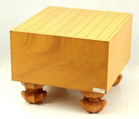 日向産本榧将棋盤柾目 6寸