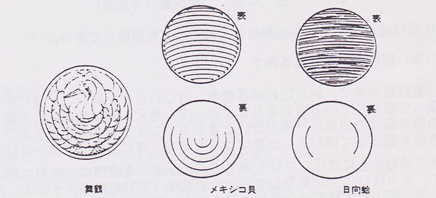 碁石の表裏 図説