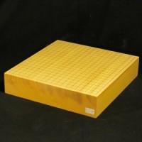 本榧碁盤卓上盤柾目 一枚板 3寸