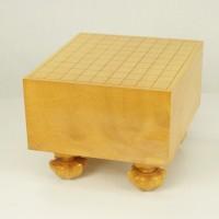 日本産本榧将棋盤 5.6寸柾目 097301