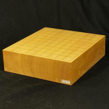 本榧将棋盤柾目一枚板 3寸