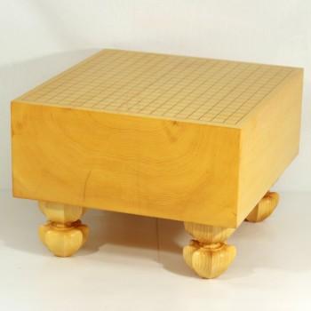 日本産本榧碁盤木裏 6寸