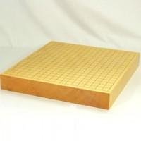 本榧碁盤一枚物 追い柾 2寸