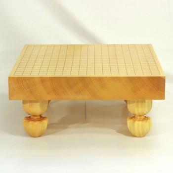 本榧碁盤柾目足付 2寸