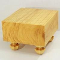 本榧将棋盤天地柾目 5.5寸
