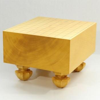 日本産本榧将棋盤木裏 5寸