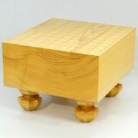 日本産本榧将棋盤 5寸木裏 186012