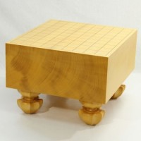 本榧将棋盤柾目 5寸