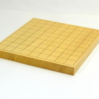 本榧将棋盤追い柾 卓上一枚物 10号