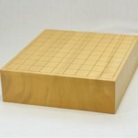 本榧(日本産)将棋盤 3寸柾目 卓上一枚物