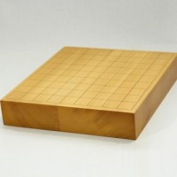 本榧将棋盤 2寸 卓上2枚ハギ