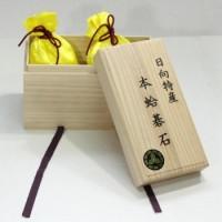 碁石 日向特産本蛤(スワブテ貝) 38号月 新品(桐箱入り)