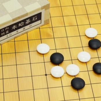 碁石 日向特産本蛤(スワブテ貝) 30号雪
