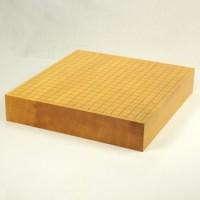 雲南産本榧 卓上碁盤 3寸追い柾 13Z179
