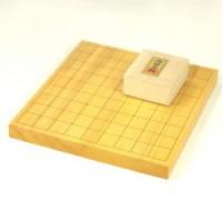 本榧将棋盤10号卓上一枚物 盤のみ・将棋駒セット選択