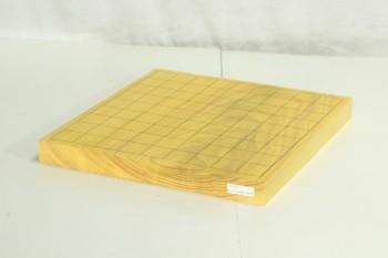 本榧将棋1寸板目 卓上一枚物