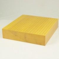 雲南産本榧碁盤 3.2寸追い柾