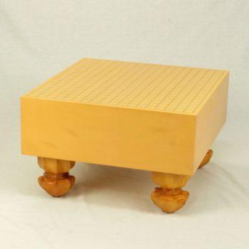【中古】日本産本榧碁盤 5寸木裏