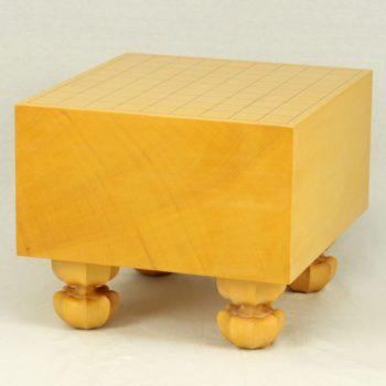 本榧将棋盤 6寸四方柾 足付