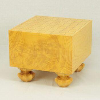 日本産本榧将棋盤 6.4寸荒柾